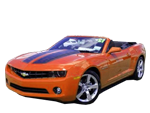 Convertible Camaro Orange
