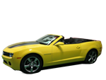 Convertible Camaro Yellow